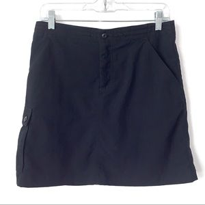 Patagonia skort women's 6 black pockets golf sport